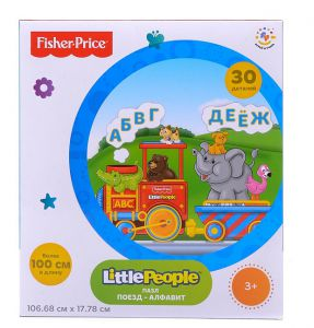 "Купить Fisher Price Пазл ""Поезд (Фишер Прайс) FP 30610"